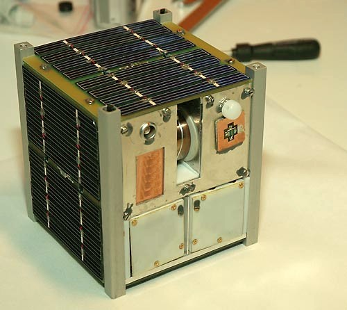 NCube-2 CubeSat, a typical CubeSat configuration minus outer skinNCube-2 CubeSat, a typical CubeSat configuration minus outer skin