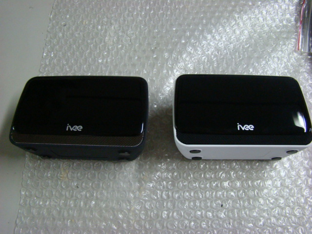Night black & Pearl white (front view)