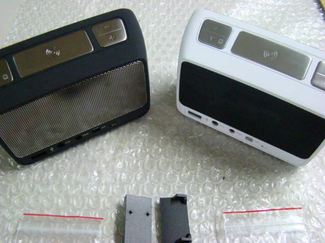 Night black & Pearl white (back side view)