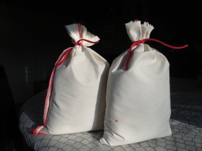 The packaging concept is now a fabric bag that will have a funky letterpress design - preliminary sketches coming soon.