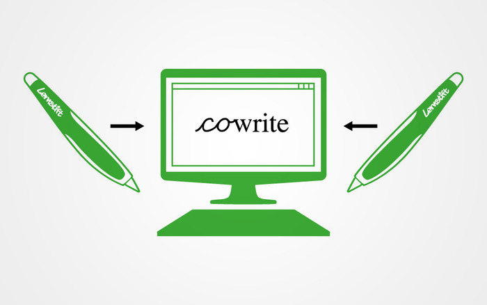 Example: cowriting software