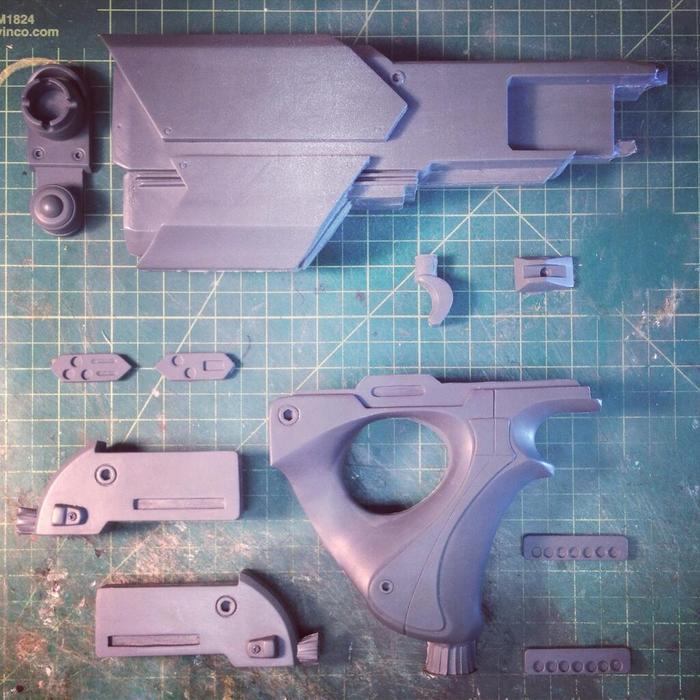 Space Gun Prototyp
