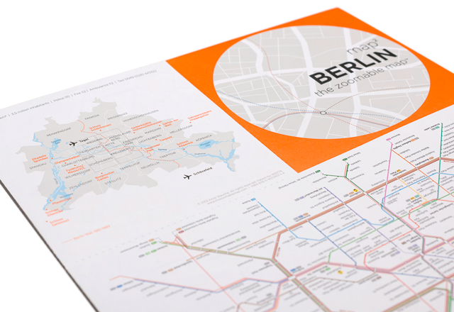 map²: BERLIN | Overview map and public transport map