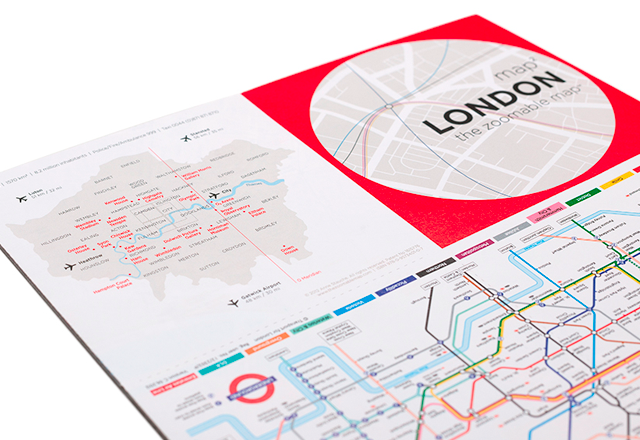 map²: LONDON | Overview map and public transport map