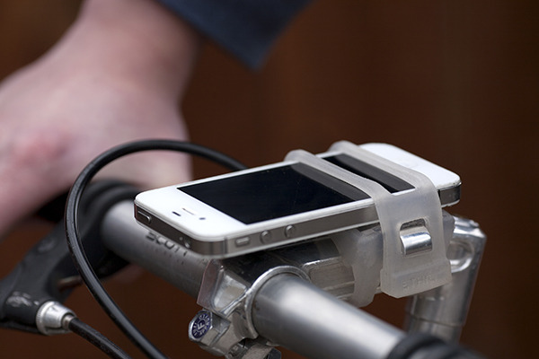 rowerowy uchwyt na telefon