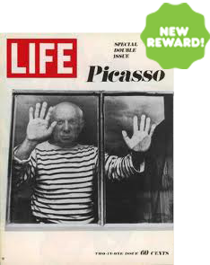 NEWLY ADDED REWARD! In one of his last interviews before his death, this 1968 Special Double Issue of PABLO PICASSO is one-of-a-kind!