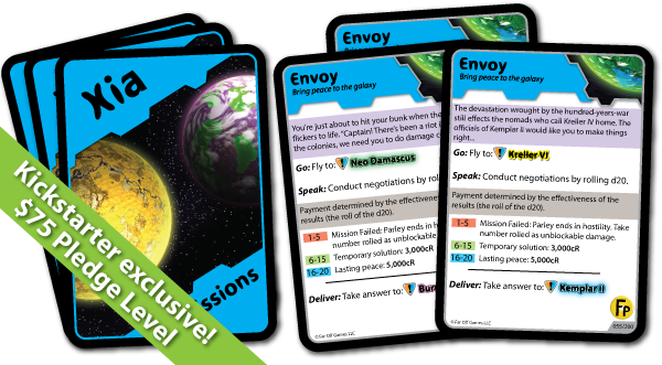 8 Exclusive Envoy Missions with every backer copy!