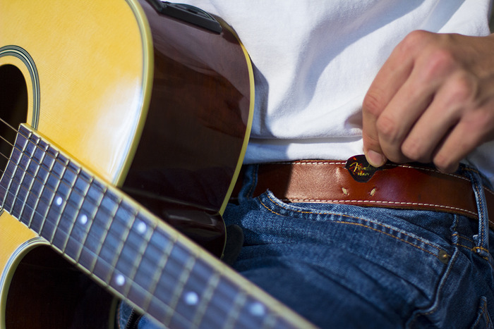 Lombardi Leather Musicians Belt