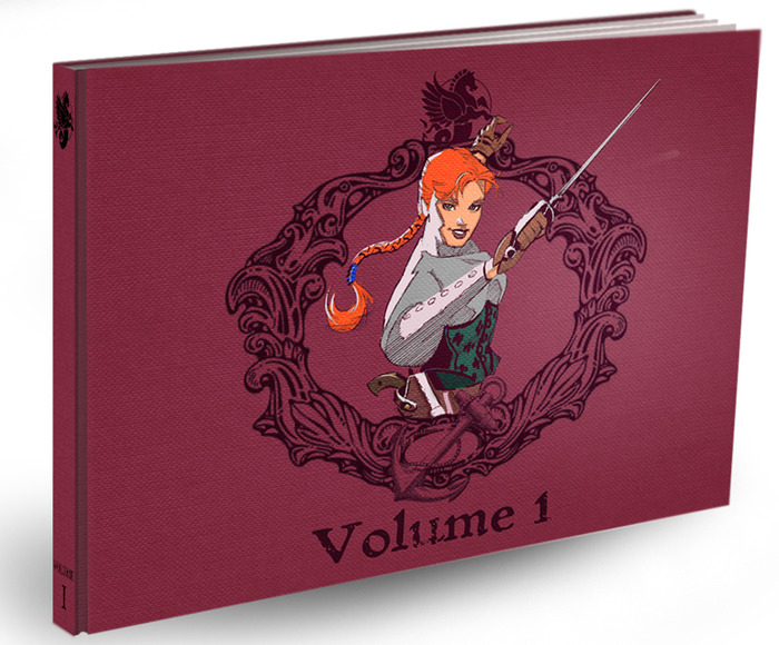 Lady Sabre book cover mock-up
