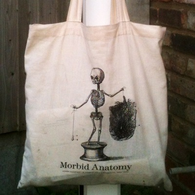 $30 Morbid Anatomy lecture tickets and tote bag SOLD OUT
