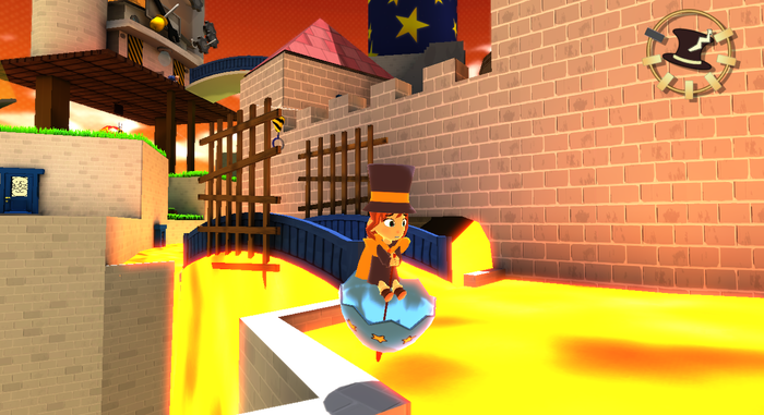 A Hat in Time con opciones en Wii U
