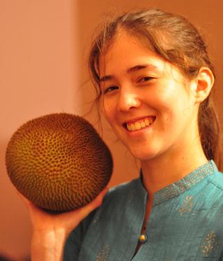 Annie + Jackfruit = <3