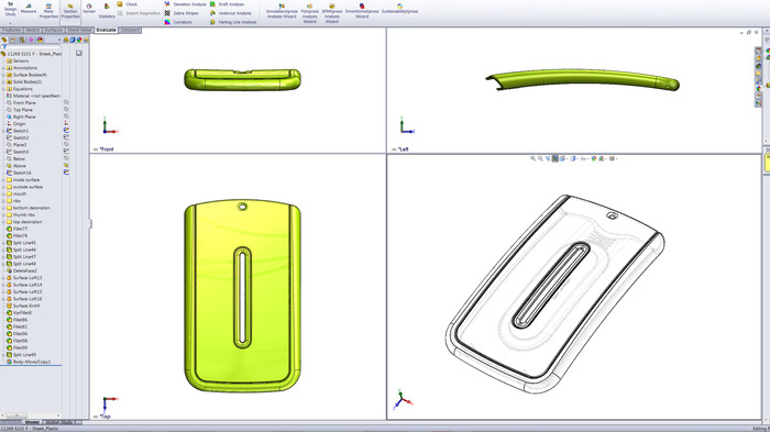 3D CAD screen shot