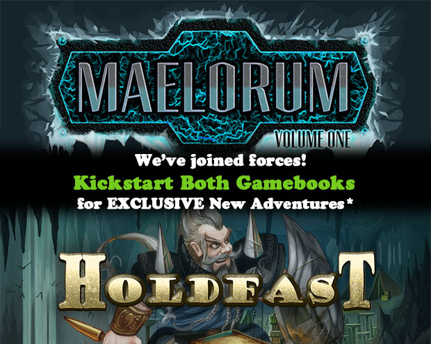 Update 11: Pledge $50+ for both Holdfast + Maelorum and you'll get new exclusive digital adventures from both. Click for more details.