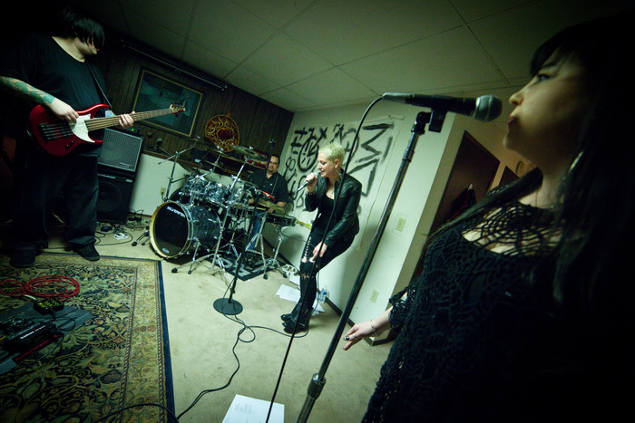 Cliff and Ivy in rehearsal space