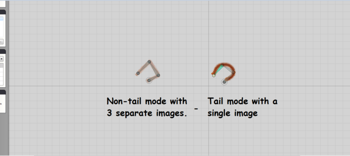 Tail mode example