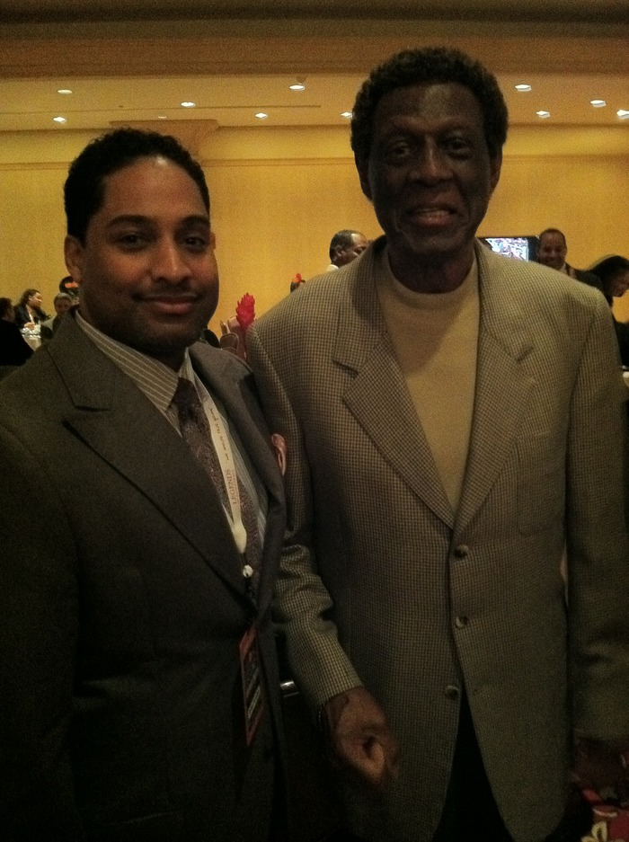 NBA PIONEER, HALL OF FAMER- ELGIN BAYLOR