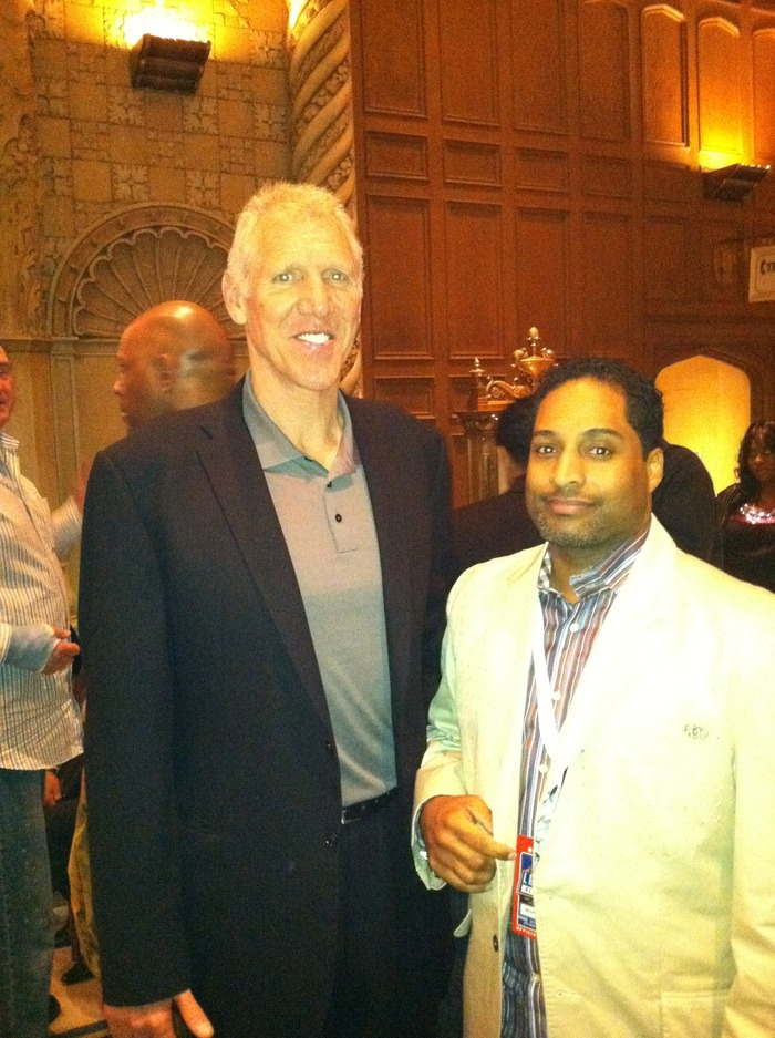 NBA LEGEND, HALL OF FAMER- BILL WALTON