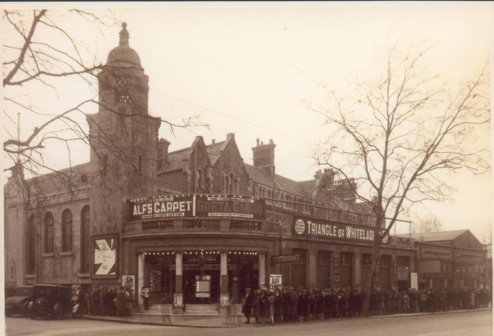 Vintage View of the Whiteladies Picture House