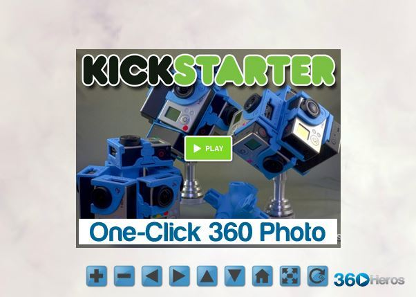 Create One-Click 360 Interactive Photo