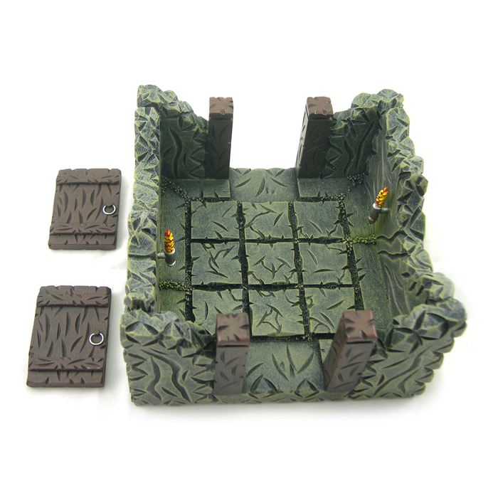 9 Tile Dungeon Room