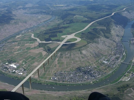 After the Bridge and Motorway Construction (CG Image)