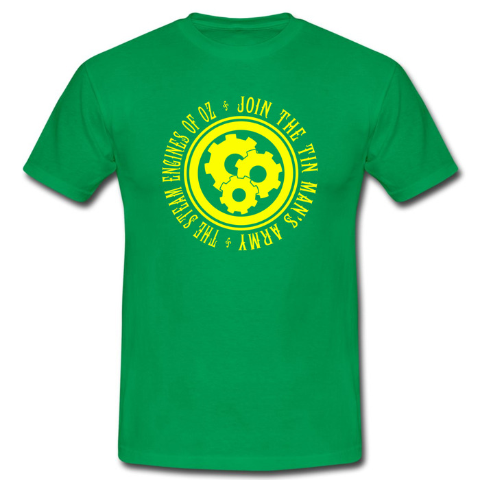 Tin Man's Army Emblem T-Shirt (Green)