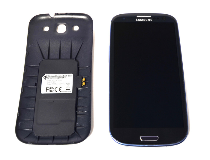 We are now offering the GS3 back door in White and Pebble Blue