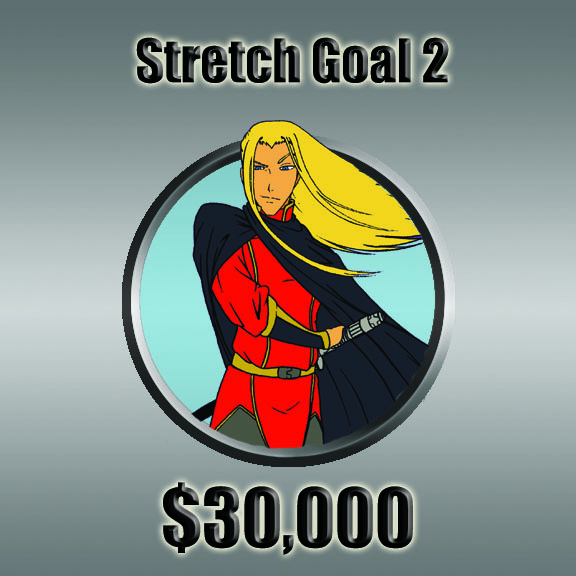 "With our second Stretch Goal everyone at the Citizen Level and above will get a 16 page, PDF ""Episode Guide"" with a new mission, new characters, new Mekton Stats and the return of an old fan favorite!!"