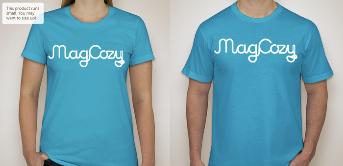 MagCozy T-Shirts for $30+ donations. Ohhh men's and women's American Apparel, Comfy!