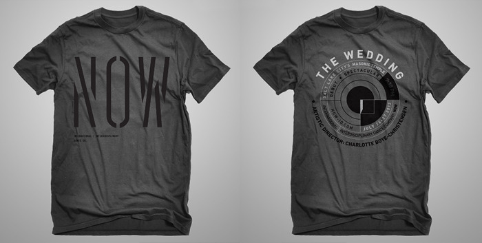 "NOW International Dance Co. and Limited Edition ""THE WEDDING"" T-Shirts. Your choice or donate twice for both!"