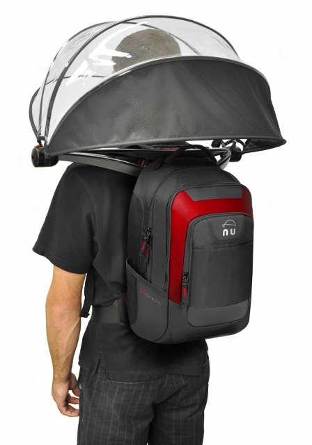 Nubrella Pak. Includes actual backpack