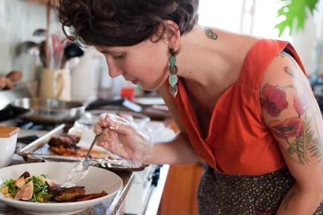 In the days before the dinner event, Nikole will consult with you about the menu courses and wine pairings, spend a day gathering and assembling the ingredients, then prepare the dinner in your kitchen - leaving it spotless. Image: Albert Law