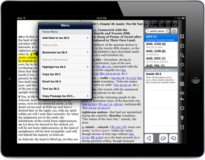 PocketBible for iOS contains a lot of code we can use on PocketBible for Mac OS