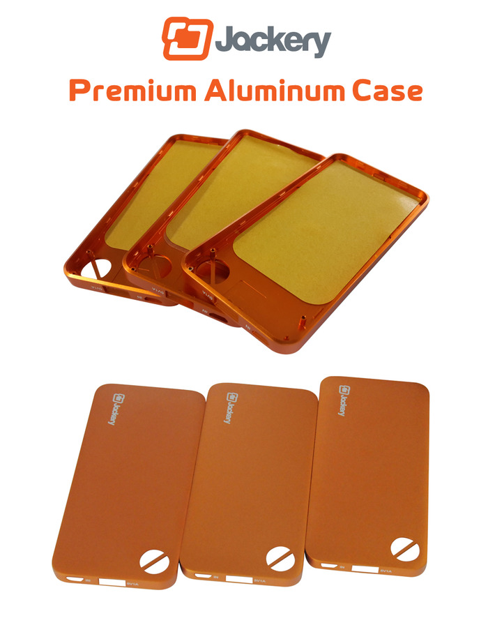 Aluminum Case with Premium Color Coating