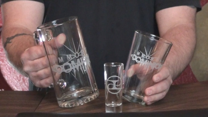 Custom Etched Glasses
