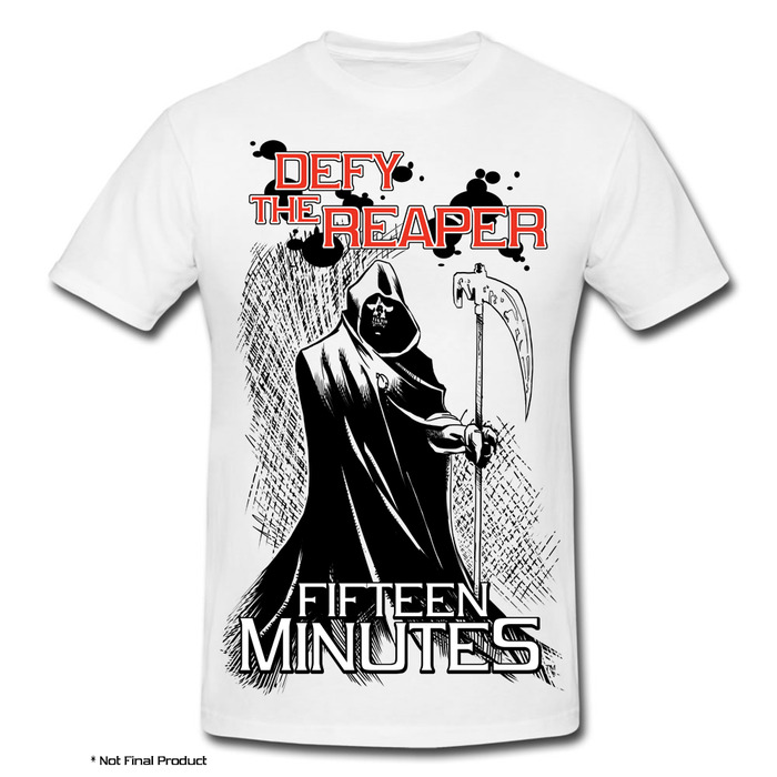 """Defy the Reaper"" T-shirt"