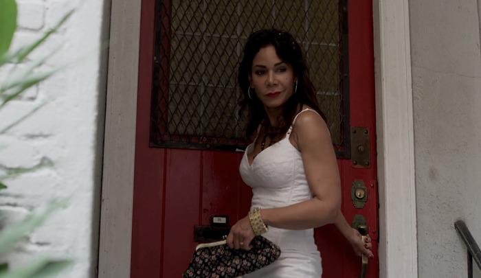 "Daphne Rubin-Vega in Hustling. Episode 2.6, ""G and T""."