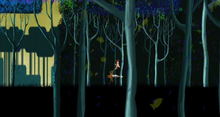Enjoy a world inspired by the works of legendary artist, Eyvind Earle.