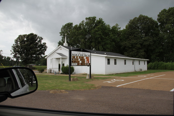 One of our main locations. A rural Gospel church.