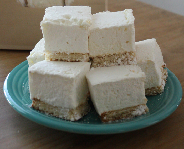 Lemon Bar Cookie Marshmallows