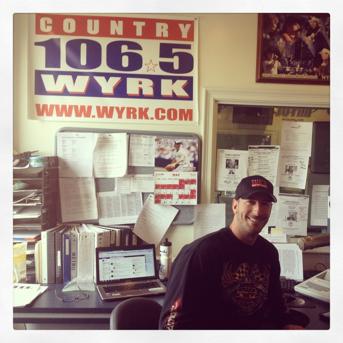 Thank you Clay from WYRK for the interview on your popular morning show!