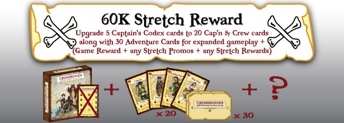 Set sail with the Cap'n & Crew and Adventure cards for expanded gameplay experience...