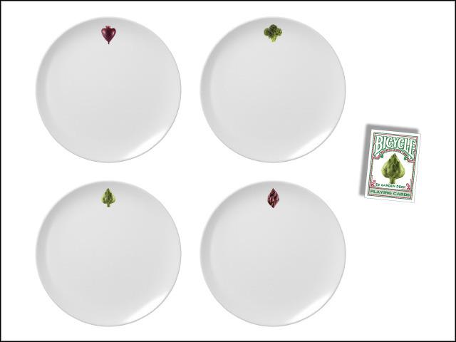 E8 Garden Deck Veggie Plates