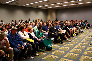 This is how packed the panels were in April! We need more space!