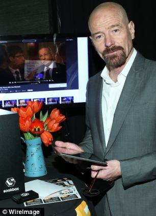 Breaking Bad's Bryan Cranston enjoys the Sookbox