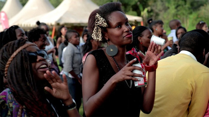 Pretty people getting down at Blankets & Wine outside of Nairobi, Kenya.