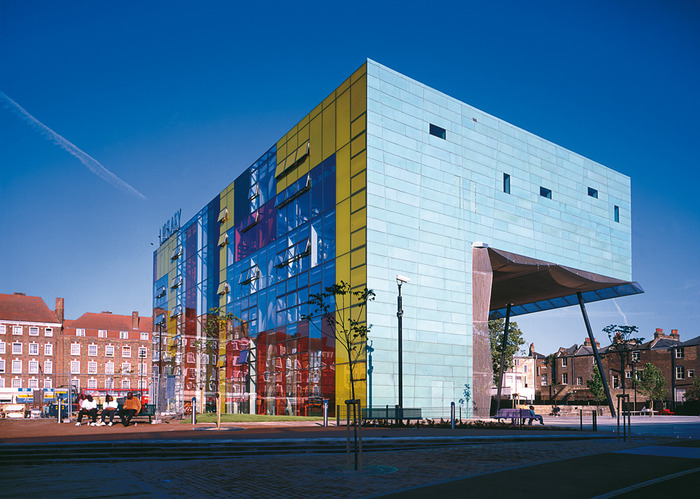 Peckham's Iconic Library - Designed by Alsop and Störmer in 2000