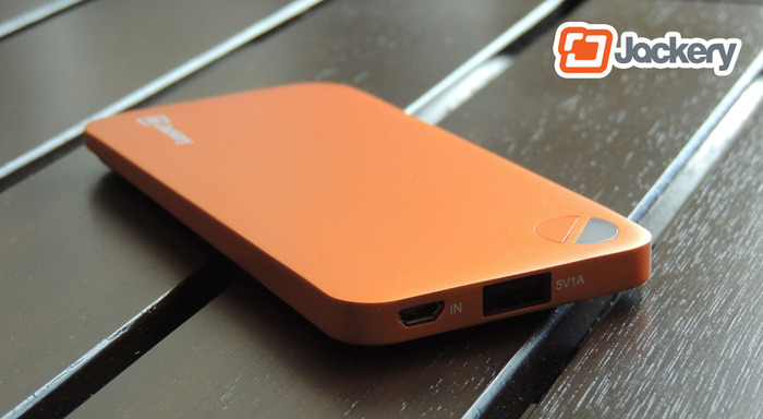 Jackery Air: Ultra-thin high-capacity portable external battery