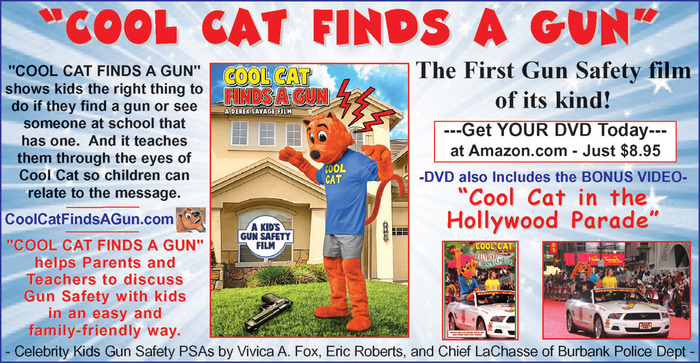 Cool Cat Finds a Gun DVD